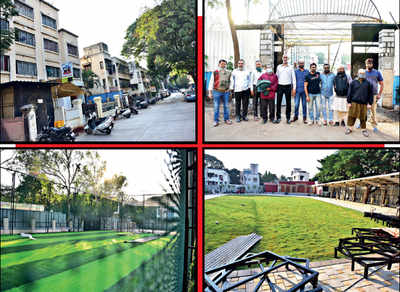 Residents and mgmt of Kausar Baug soc lock horns over open space