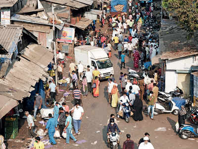 One big mad scamper: Mumbaikars rush to stock up on essentials with the cops breathing down their necks.