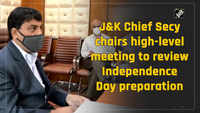 J&K Chief Secy chairs high-level meeting to review Independence Day preparation
