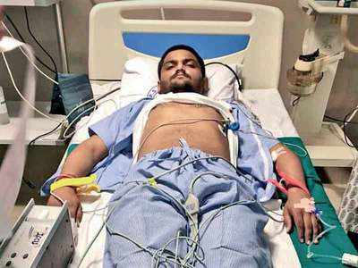 Hardik Patel rushed to hospital after he has trouble breathing