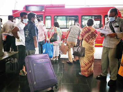 Quarantine over, 112 travellers leave SevenHills for home