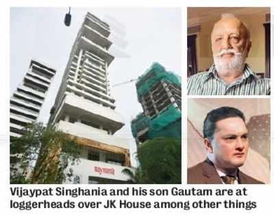 Vijaypat says Gautam treating Raymond as `personal fiefdom'