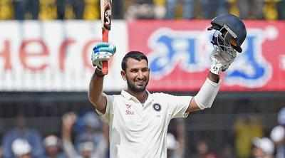 India v Sri Lanka 2017 series: Cheteshwar Pujara becomes the joint second-fastest Indian to score 4,000 Test runs