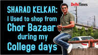 Sharad Kelkar: I used to shop from Chor Bazaar during my college days