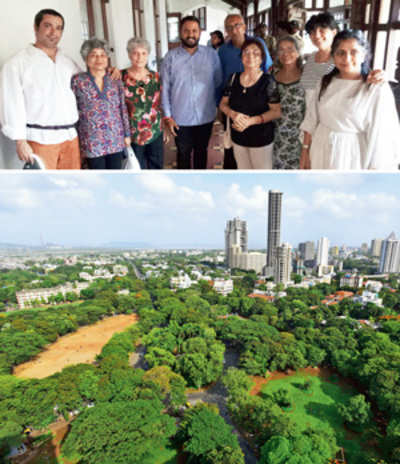 Parsi Colony, Five Gardens may stay in same civic ward