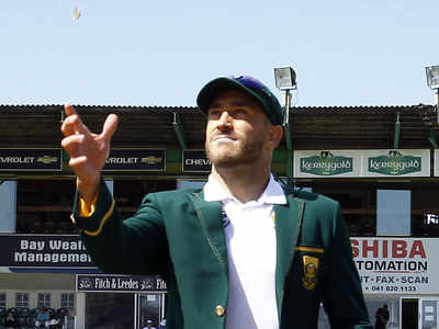 South Africa skipper Faf du Plessis: Test cricket can be better off without toss