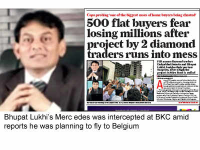 500 flat buyers in a lurch: Diamond trader held over stalled high-rises
