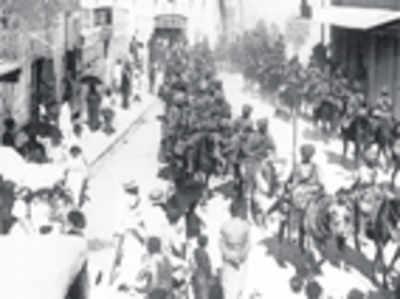 The Mysoreans who won Battle of Haifa