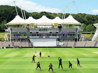 International cricket's comeback Test a chance for Southampton to showcase its features, says Rod Bransgrove