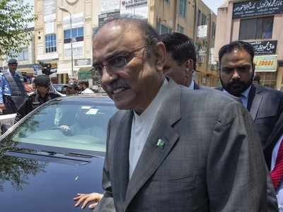 Former Pakistani President Asif Ali Zardari arrested in fake bank accounts case