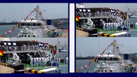 Visakhapatnam: Indian Coast Guard vessel Veera commissioned by General Bipin Rawat
