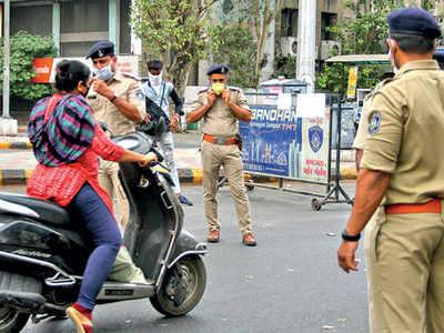 In Gandhinagar, patient no 1's chain unbroken