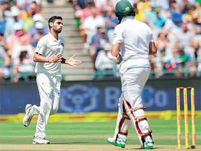 India vs South Africa, 1st Test, Day 1: After restricting Proteas at 286, visitors slide to 28/3