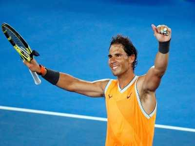 Rafael Nadal's wit coming to the fore in Australian Open