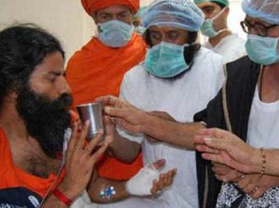 Fake alert: Fake post claiming Baba Ramdev got his knee operated in Germany goes viral