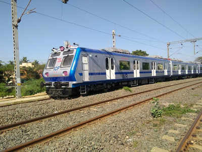 First rake of AC local likely to ply next month between Thane-Vashi and Thane-Panvel