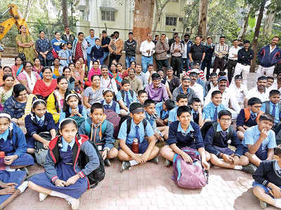 MIT school opts for CBSE, parents protest