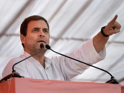 Congress chief Rahul Gandhi: Jobs for youth, market for farmers are top priorities for People's Front in Telangana