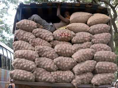 Onions worth Rs 20 lakh stolen from truck on its way from Nashik to Gorakhpur