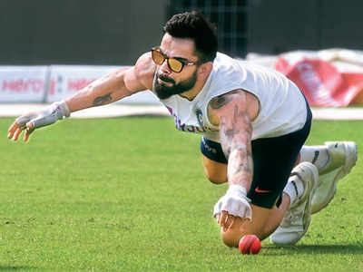 Virat Kohli says pink ball feels heavier than the red ball