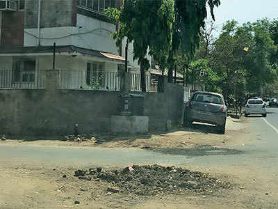 When repair work leaves the road in bad condition