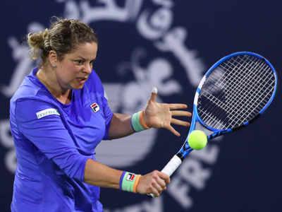 Kim Clijsters loses