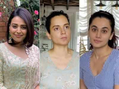 Nepotism debate: Taapsee Pannu, Swara Bhasker respond to Kangana Ranaut's 'B-grade actresses' remark