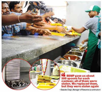 At Indira Canteens in Bengaluru, it's a steal