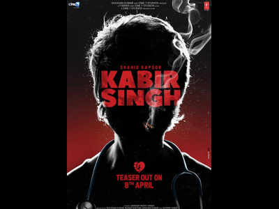 Kabir Singh teaser to be released on Monday