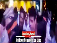 On cam: MNS workers create ruckus at a Mumbai mall