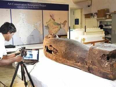 An Egyptian mummy now in Mumbai!