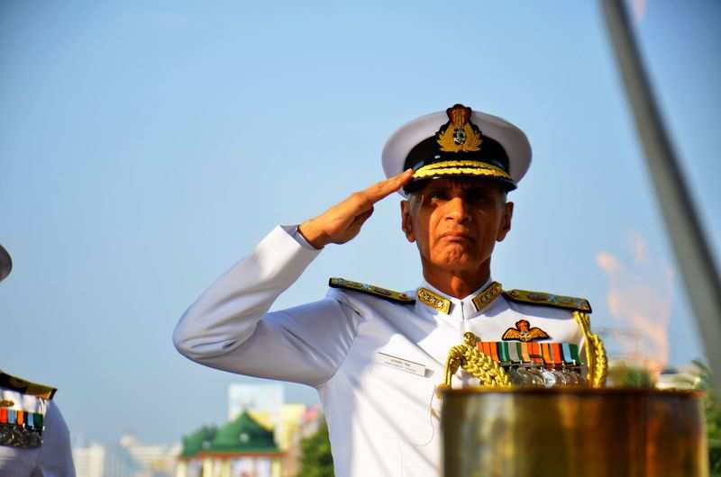 Navy Day 2017: Officers mark the occasion with solemn celebrations