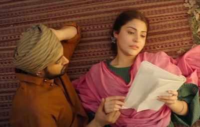 Phillauri: Anushka Sharma and Diljit Dosanjh recreate old school romance in their upcoming film