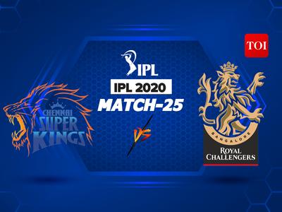 IPL 2020 Highlights, CSK vs RCB: Royal Challengers Bangalore beat Chennai Super Kings by 37 runs