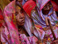 Vrindavan widows to forego Holi this year to pay homage to late Goa CM Manohar Parrikar