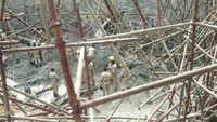 Under-construction water tank collapses in Karnataka's Bengaluru