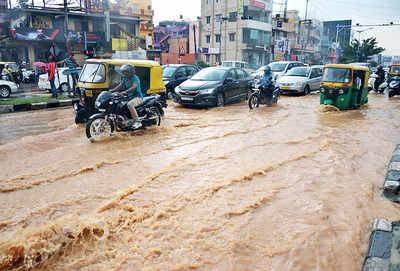October 5 soaked Bengaluru to the bone