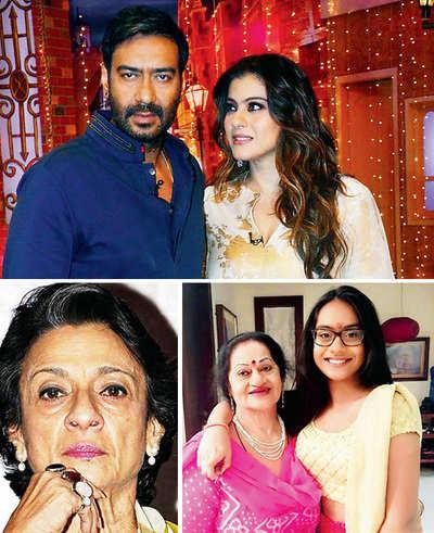 Ajay, Kajol's mothers in the same hospital