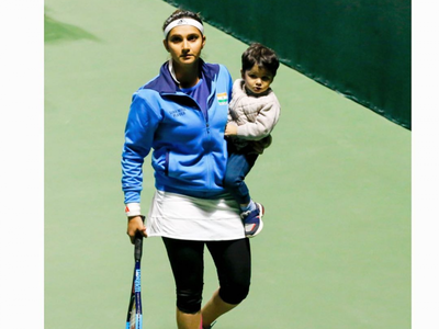 Sania Mirza back on the tennis court