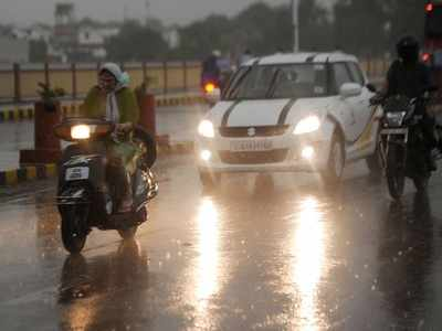 Saurashtra, South Gujarat to receive rain for next three days; weather to remain cloudy in Ahmedabad