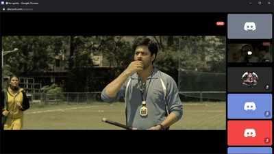 BU screens SRK-starrer Chak De India on Discord