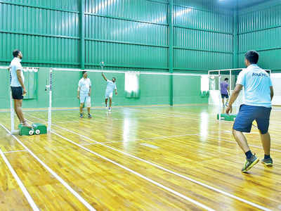 Bengalureans are braving traffic to get some down time on the court, making friends along the way