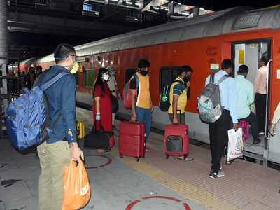 Shramik Specials didn't get lost but were diverted due to congestion: Western Railway