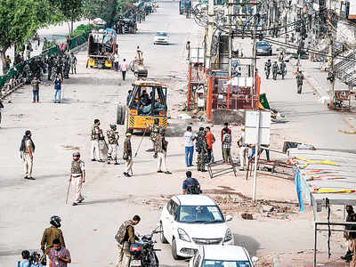 After 101 days of sit-in, Shaheen Bagh cleared amid lockdown; 9 detained