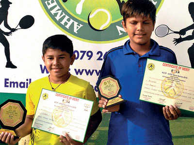 Vraj beats clubmate to win AITA crown