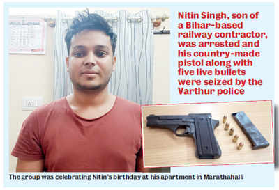 Man pulls gun on girl as debate on politics heats up at his party