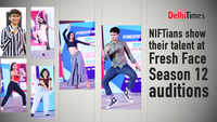 NIFTians show their talent at Fresh Face Season 12 auditions