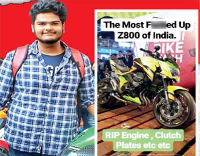 Pune bikers rough up Mumbai vlogger for trashing superbike