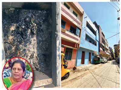 Tenant hits landlady; grandmom, brother burn body in Bidadi