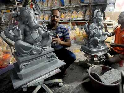 1 year stay on ban on Ganesh idols made of Plaster of Paris (POP)